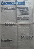Ziarul Porunca Vremii , nr. 2189 / 1942 , organ al extremei drepte