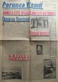 Ziarul nationalist Porunca Vremii , nr. 2188 / 1942 , Antonescu , Armata