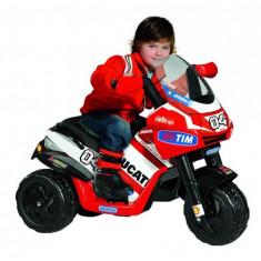 Motocicleta copii Ducati Desmosedici Raider Peg Perego - Masinuta electrica copii
