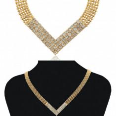 Colier Luxury Anne's Cod produs: CLX 2 - Lantisor placate cu aur, Femei, 18k
