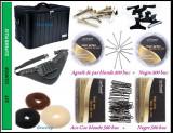 Produse scoala Set kit frizerie coafor frizer geanta echipata SUPERB PLUS brau