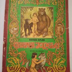 (T) Cartea junglei - Rudyard Kipling, 1986, carte pentru copii - Carte de povesti
