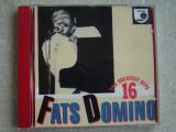 FATS DOMINO - 16 Greatest Hits - C D Original ca NOU