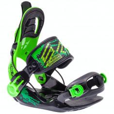 LEGATURI SNOWBOARD SP FASTEC JR BLACK XS (30-35) - Echipament snowboard