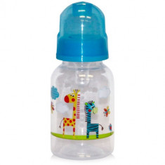 Biberon Decorat Baby Care 125 ml Blue