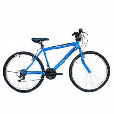 "Bicicleta MTB UMIT Colorado Man , culoare Albastru , roata 26"" , otelPB Cod:2601000001, 21"