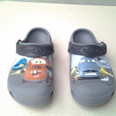 Fulger Mcqueen Cars Disney Saboti Crocs mar. 31 / 32 - Papuci copii, Marime: 31.5, Culoare: Din imagine