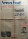 Ziarul Porunca Vremii , nr. 2026 / 1942 , organ al extremei drepte romanesti