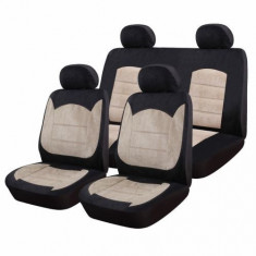 Huse Scaune Auto Dacia Logan Mcv Luxury Sueden 9 Bucati - Husa scaun auto RoGroup