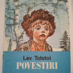 (T) Lev Tolstoi - Povestiri, 1988, Editura Ion Creanga - Carte de povesti
