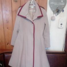 Palton - Palton dama, Marime: 44, Culoare: Cappuccino