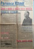 Ziarul nationalist Porunca Vremii , nr. 2189 / 1942 , Antonescu , Crimeea