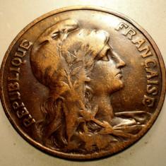 2.933 FRANTA 10 CENTIMES 1910, Europa, Bronz