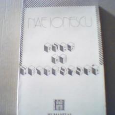 Nae Ionescu - CURS DE METAFIZICA { Humanitas, 1991 } - Filosofie