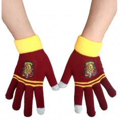 MANUSI de iarna Harry Potter HOGWARTS Gryffindor haine imbracaminte TOUCHSCREEN - Manusi Barbati, Marime: Alta, Culoare: Multicolor