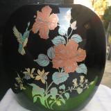 Vaza portelan, cu flori, Italia