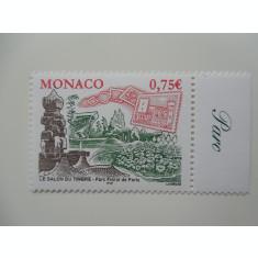MONACO-TIMBRU PE TIMBRU-COMPLET,NESTAMPILAT