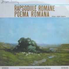 George Enescu - Poema Romana (LP - Romania - VG) - Muzica Clasica, VINIL