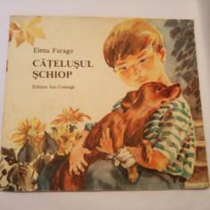 (T) Catelusul schiop - Elena Farago 1989, carte pentru copii - Carte de povesti