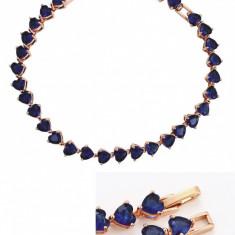 Bratara Luxury Hearts Sapphire Cod produs: BBD 2