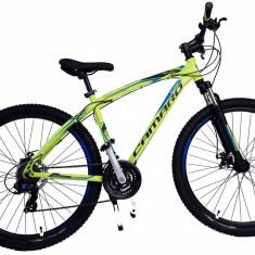 Bicicleta MTB UMIT Camaro 2D, culoare Galben, roata 27.5