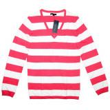 Bluza TOMMY HILFIGER Vee - Pulover, Bluze Dama, Femei - 100% AUTENTIC, M, Maneca lunga, Office, Tommy Hilfiger