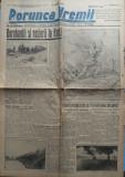 Ziarul nationalist Porunca Vremii , nr. 2244 / 1942 , Dorobantii si Rosiorii