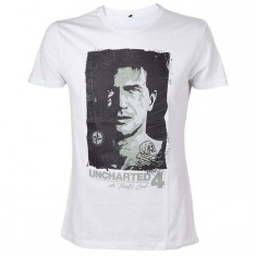 Tricou Uncharted 4 Drake S Compass T-Shirt Size Xl