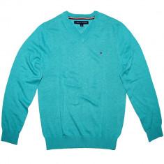 Bluza TOMMY HILFIGER - Pulover, Bluze Barbati - 100% AUTENTIC - Bluza barbati Tommy Hilfiger, Marime: XXL, Culoare: Din imagine, Bumbac
