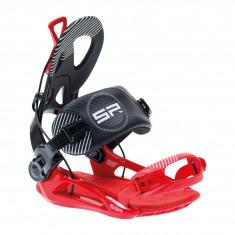 LEGATURI SNOWBOARD SP PRIVATE 17/18 RED/BLACK S, M - Echipament snowboard