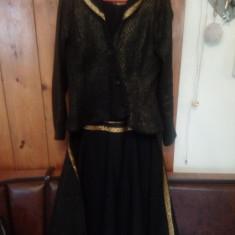 Pardesiu - Trench dama, Marime: 34, Culoare: Negru