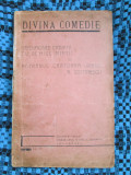 N. COSTINESCU - DIVINA COMEDIE (editie interbelica)