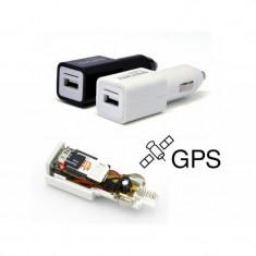 Incarcator Auto cu Microfon Spion GSM/Tracker, Autonomie Nelimitata, GARANTIE!