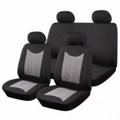 Huse Scaune Auto Dacia Logan Mcv Sueden-Polyester 9 Bucati - Husa scaun auto RoGroup
