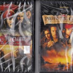 Pirații din Caraibe 1 - 3 - Film Colectie disney pictures, DVD, Romana