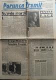 Ziarul nationalist Porunca Vremii , nr. 2184 / 1942 , Sadoveanu