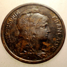 2.903 FRANTA 2 CENTIMES 1916, Europa, Bronz