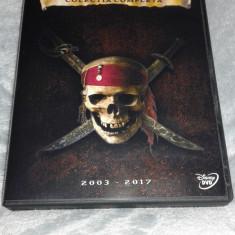 Piratii din Caraibe - colectia completa pe dvd subtitrare romana
