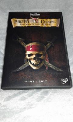 Piratii din Caraibe - colectia completa pe dvd subtitrare romana foto