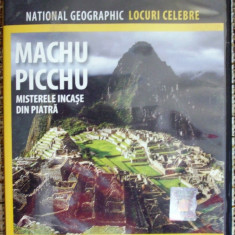 FILM, DVD, MACHU PICCHU, NATIONAL GEOGRAFIC - Film Colectie, Romana