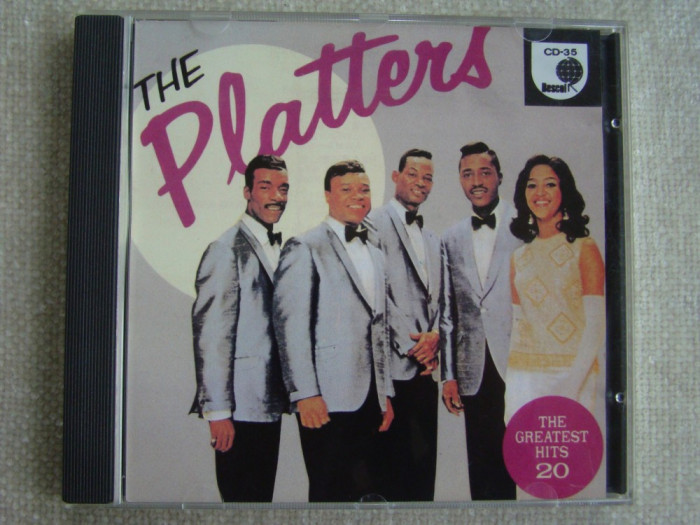 THE PLATTERS - 20 Greatest Hits - C D Original