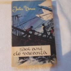 Jules Verne - Doi ani de vacanta - Carte de aventura
