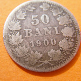 50 BANI 1900 ARGINT - Moneda Romania
