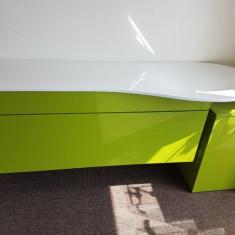 Set lavoar cu mobilier Pli si cos pentru rufe - Set mobilier baie