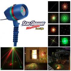 PROMOTIE! LASER EXTERIOR STAR SHOWER MOTION LIGHT,LASER CU MULTIPLE PROIECTII 3D foto