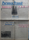 Ziarul nationalist si antisemit Porunca Vremii , nr. 2175 / 1942