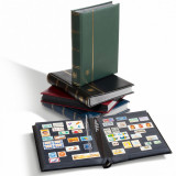 Premium LUX album pentru timbre - 32 foi/64 pagini negre