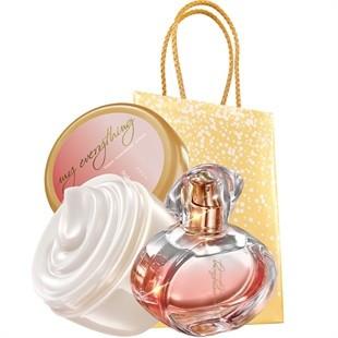 Apa de parfum Tomorrow my everything 50ml + crema de corp 150ml AVON foto