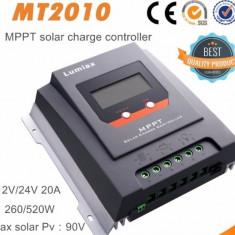 Controller/regulator solar MPPT REAL MT2010 20A LCD Panouri fotovoltaice
