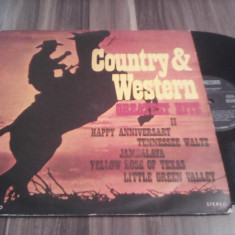DISC VINIL COUNTRY&WESTERN GREATEST HITS II EDE 01838 STARE EXCELENTA - Muzica Country